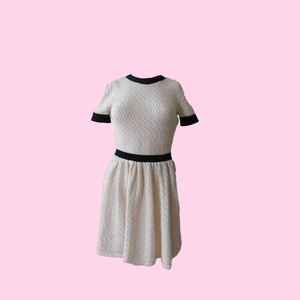 Red Valentino knit dress crochet dress